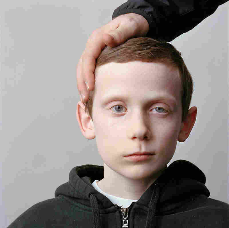 12-year-old boy with his father, 2009