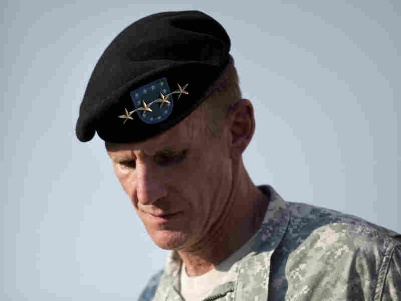 Gen. Stanley McChrystal during a retirement ceremony in 2010. His comments in a Rolling Stone interview helped lead to his resignation.