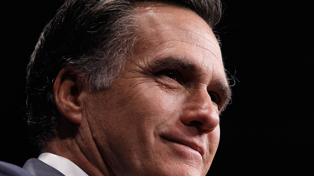 Mitt Romney spoke at the Conservative Political Action Conference in February 2012. The former Republican presidential nominee is scheduled to speak to the group again next month. (Getty Images)