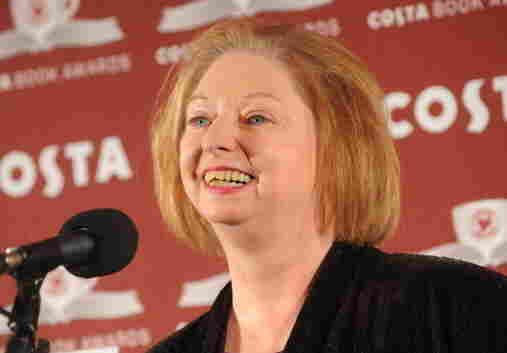 Hilary Mantel accepts the Costa Book Of The Year award in January.