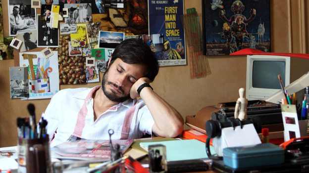 Gael Garcia Bernal stars as an advertising man in Chile under Pinochet in the 2012 film No, which is nominated for Best Foreign Language Film at the upcoming Academy Awards. (Sony Pictures Classics)