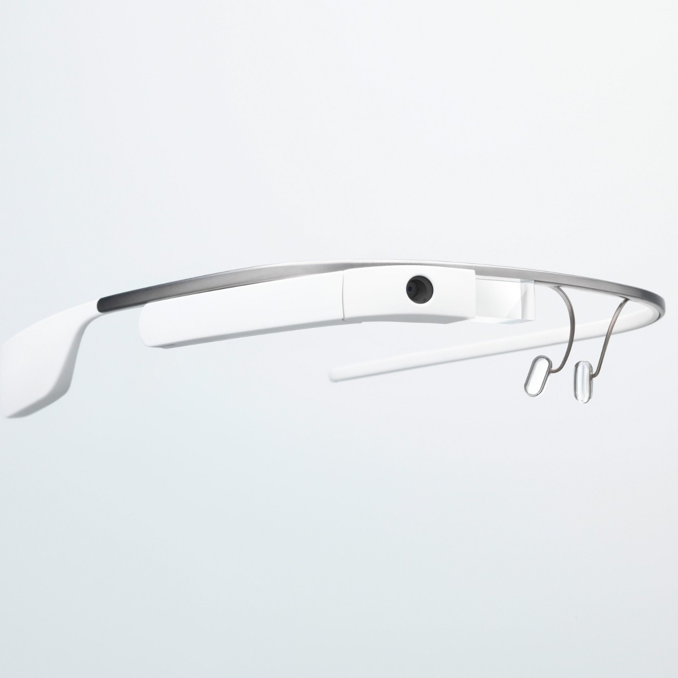 Google's Glass lets users send messages, video-chat, record video and take photos.