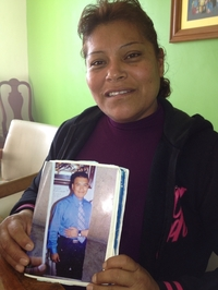 Maximina Hernandez's 23-year-old son, a police officer, disappeared on his way to work in 2007.