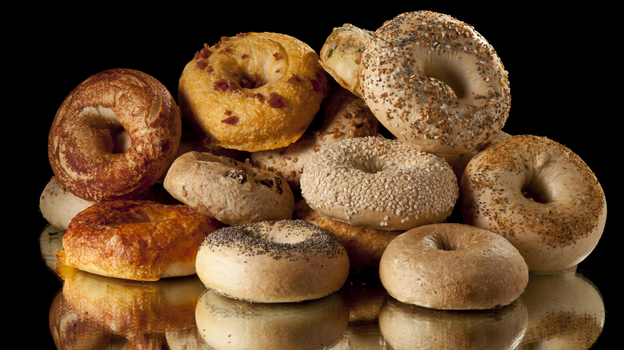 For better skin, maybe you should stick to the whole grain bagels. (istockphoto.com)