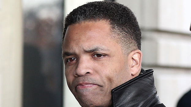 Former Rep. Jesse Jackson Jr., D-Ill., as he entered court in Washington, D.C., on Wednesday. (Getty Images)