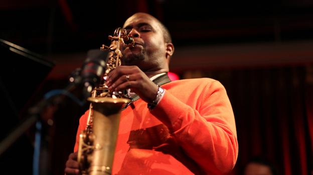 Alto saxophonist Tim Green performs at 92Y Tribeca on Wednesday, Feb. 20, 2012. (johnrogersnyc.com)