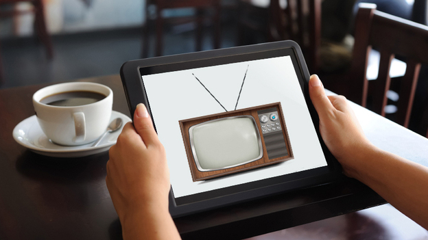Aereo allows users to connect to a distant antenna — a tiny device that acts like an old set of rabbit ears — and watch broadcast TV channels on their computer, tablet or smartphone. Currently the service is available only in New York City, and it's embroiled in legal complications. (Source images from iStockphoto.com, composite by Camila Domonoske)