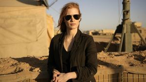 Jessica Chastain as CIA agent Maya in a scene from the film Zero Dark Thirty.