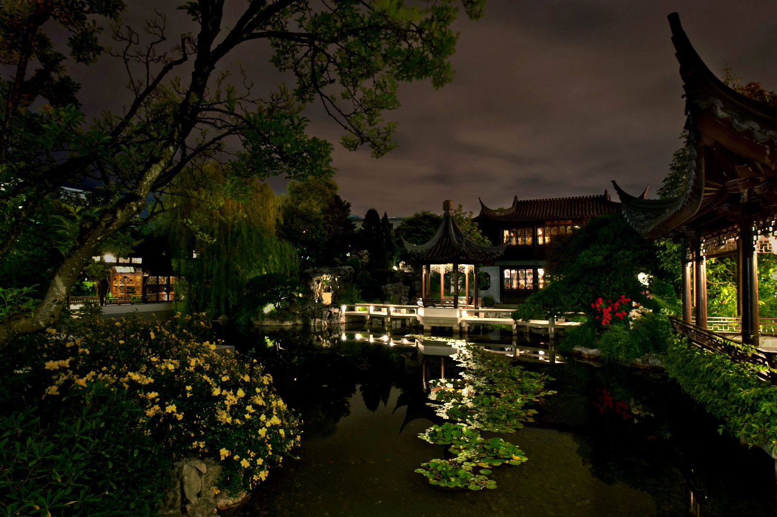 Lan Su Chinese Garden, Portland, Ore.
