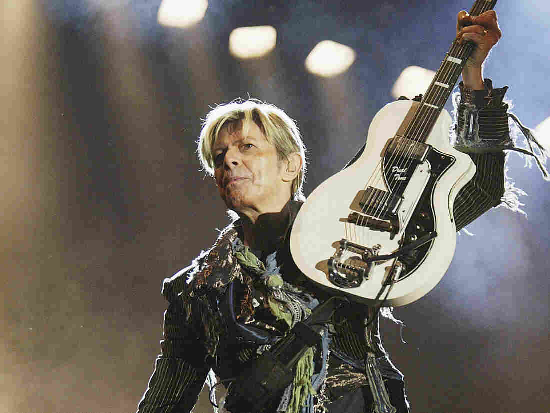 """""""I don't live for the stage,"""" David Bowie told Fresh Air's Terry Gross. """"I don't live for an audience."""""""
