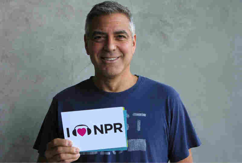 Leading man George Clooney showed NPR some love after his interview last year on All Things Considered where the actor talked about his role in The Descendants. He made this year's Oscar shortlist as a producer on Best Picture contender Argo.