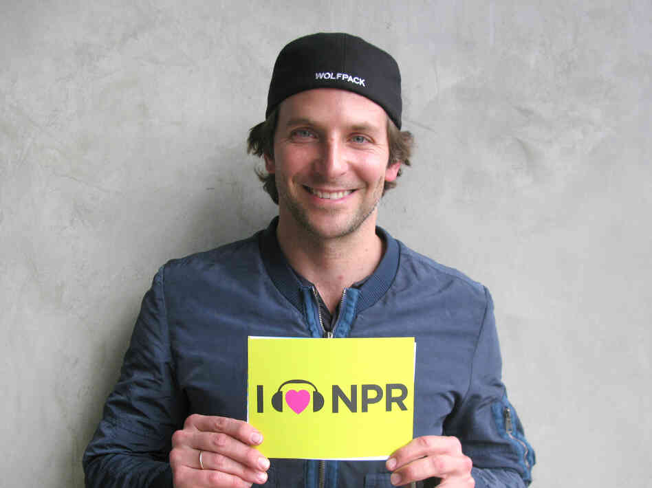 Bradley Cooper at NPR West.