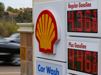 Gasoline prices at a station in Encinitas, Calif., earlier this week.