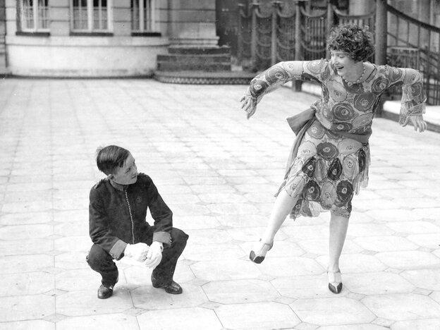 Gilda Grey, the dancer who is sometimes credited with naming the shimmy, in London in 1928.