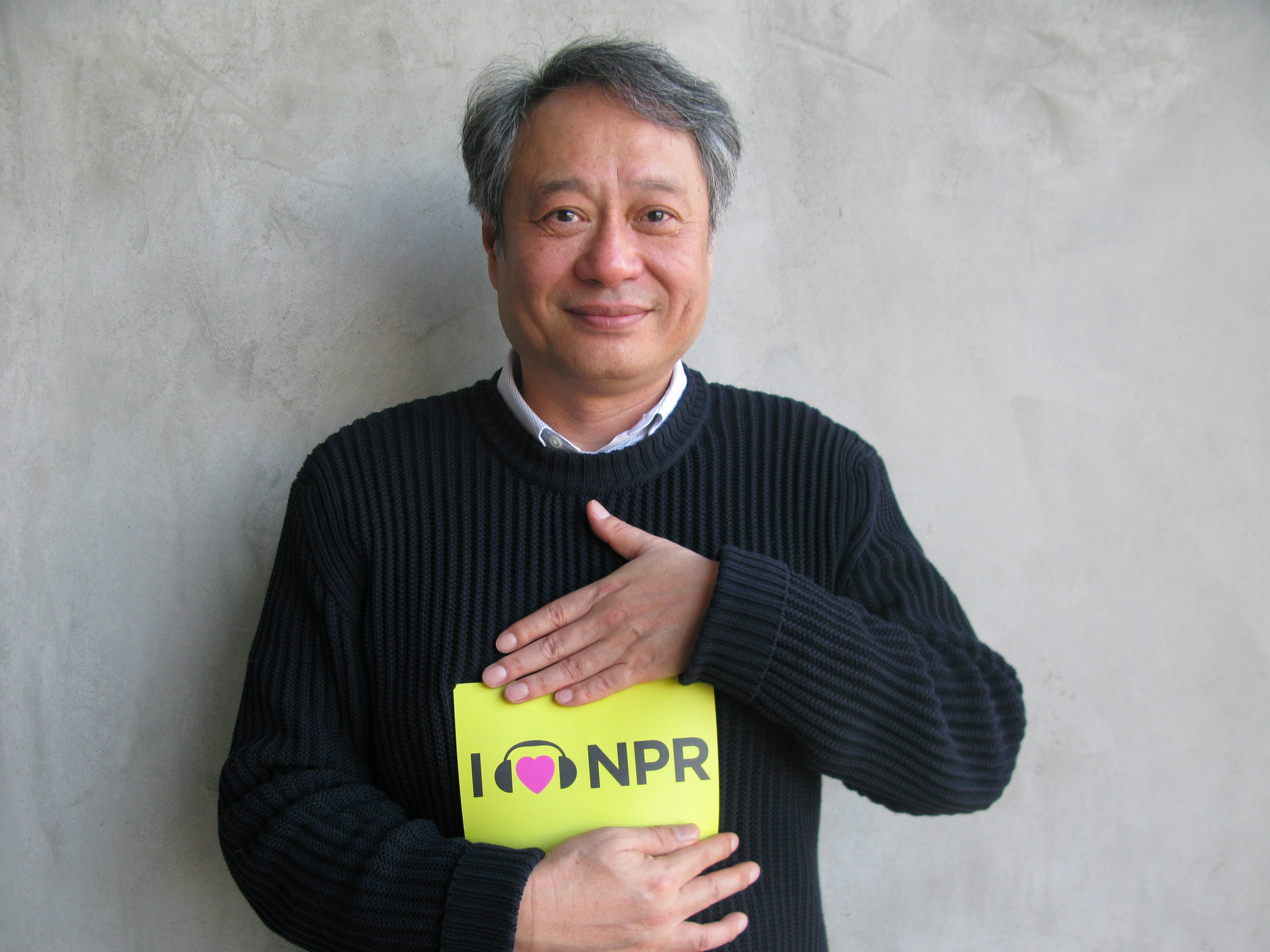 Life of Pi Director Ang Lee earned high honors from the Academy this year with a Best Director nomination, but we'll also give him props for sharing some real love for NPR. (http://n.pr/SUYV6V)