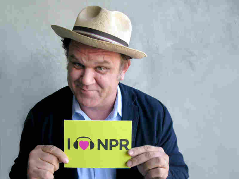 John C. Reilly voices the title character in Wreck-It Ralph, which is nominated for best animated feature film. Though his character is a video-game bad guy who wants to be good, Reilly showed us he's one of the good guys with his love for NPR. (http://n.pr/U6Pu3V)