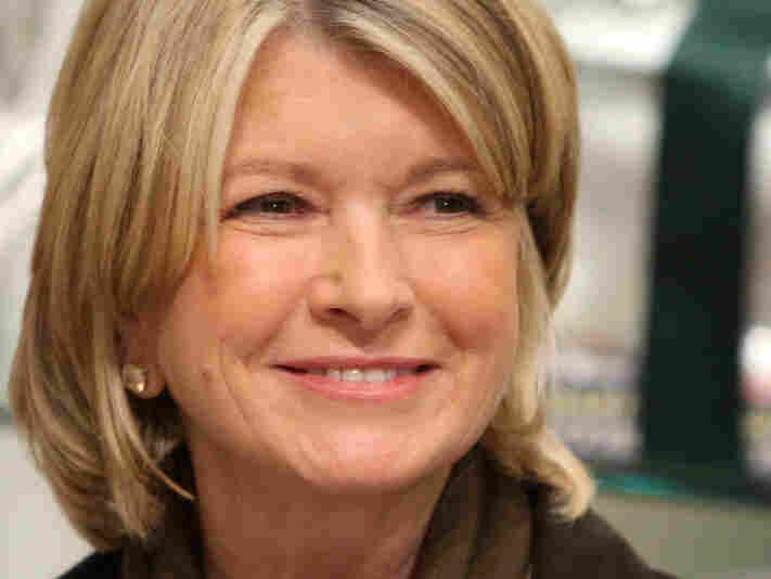 Martha Stewart at Williams-Sonoma in New York City on on Oct. 22, 2008.