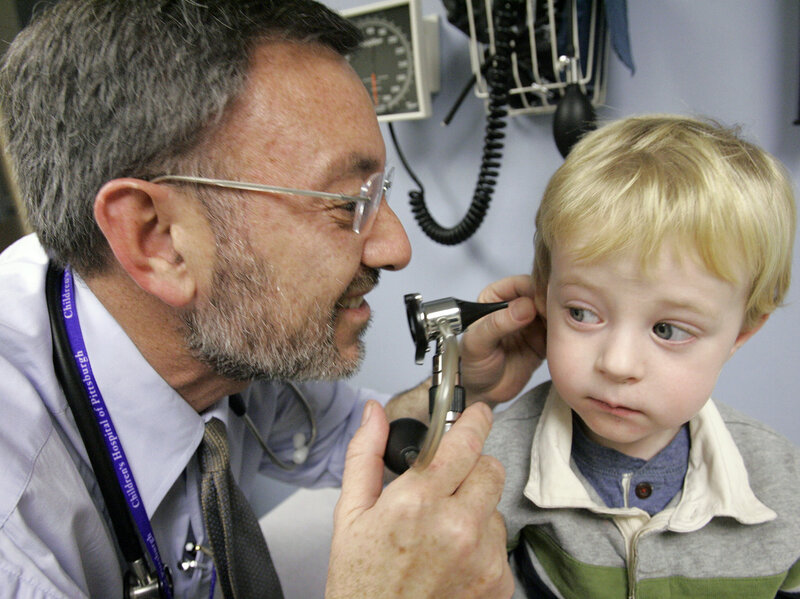 Pediatricians Urged To Get Involved >> Pediatricians Urged To Treat Ear Infections More Cautiously Shots