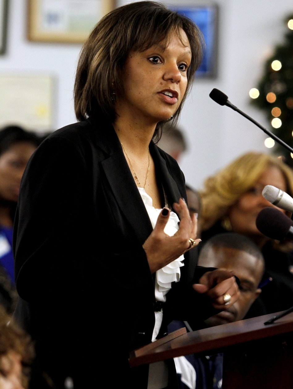 Former Cook County administrator Robin Kelly has been the beneficiary of the Michael Bloomberg-funded superPAC. (AP)