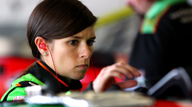 Danica Patrick became the first woman to win the No. 1 starting slot at NASCAR's elite level. But will that spot — and her weight advantage — give her an edge in Sunday's Daytona 500? (Getty Images)