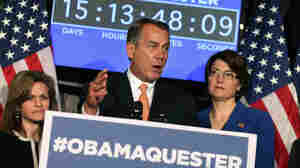 House Speaker John Boehner  held a news conference Feb. 13 in which Republicans promoted the hashtag