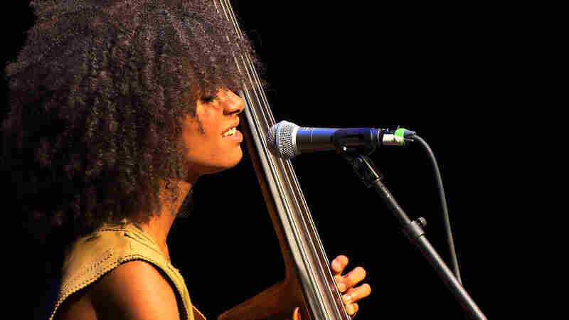Esperanza Spalding performs live for opbmusic.