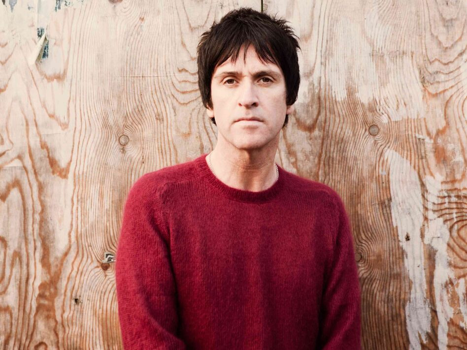 Johnny Marr's new solo album is called The Messenger.