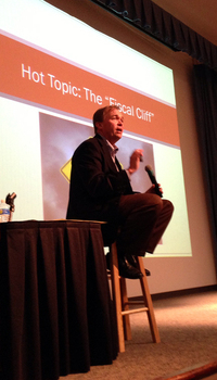 Rep. Mick Mulvaney, R-S.C., hosts a town hall in his home district.
