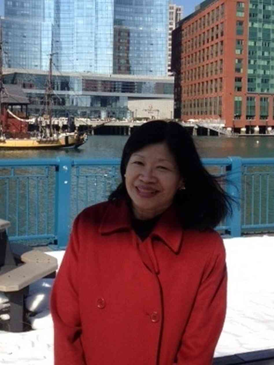 Vivien Li heads the Boston Harbor Association. Her organization is advising property owners in the city on how to prepare for potential flooding.