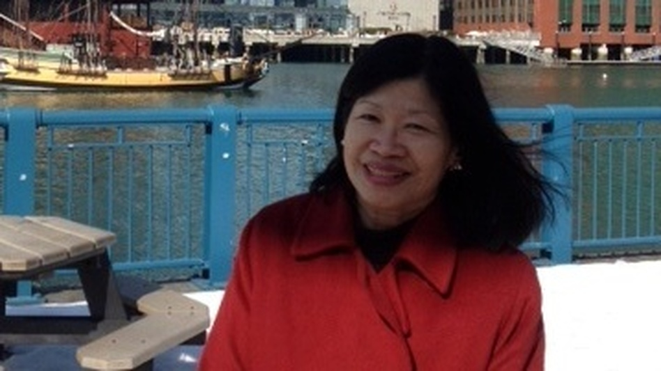 Vivien Li heads the Boston Harbor Association. Her organization is advising property owners in the city on how to prepare for potential flooding. (NPR)