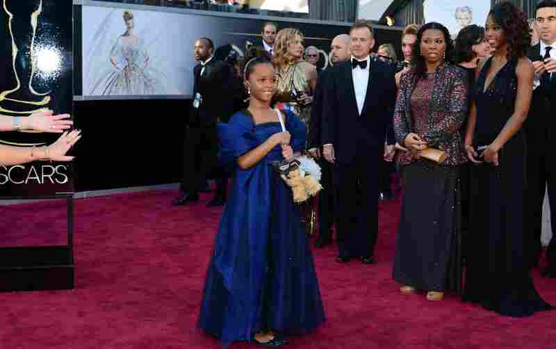 Quvenzhane Wallis, best actress nominee for Beasts of the Southern Wild