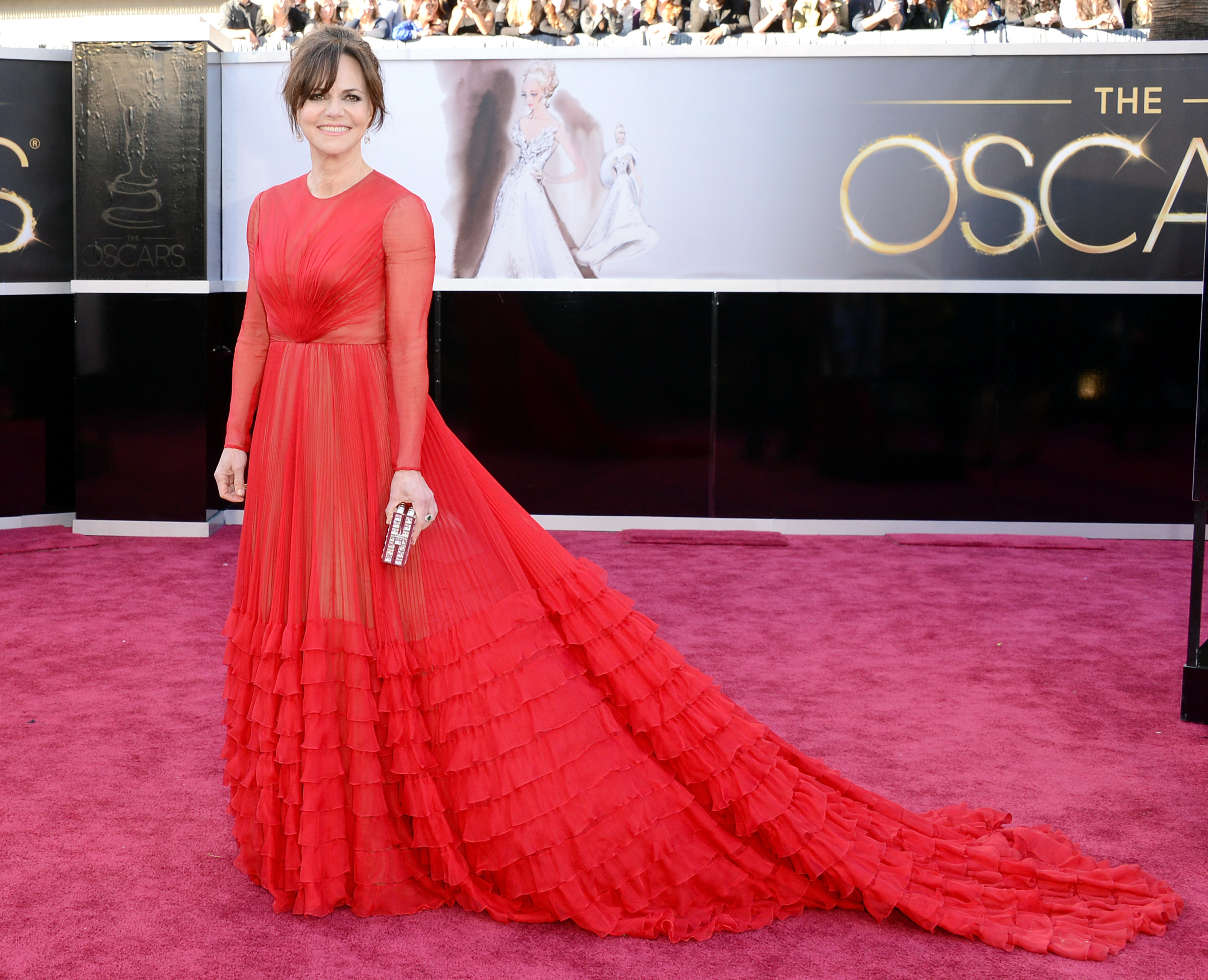 Sally Field, nominated for best supporting actress in Lincoln