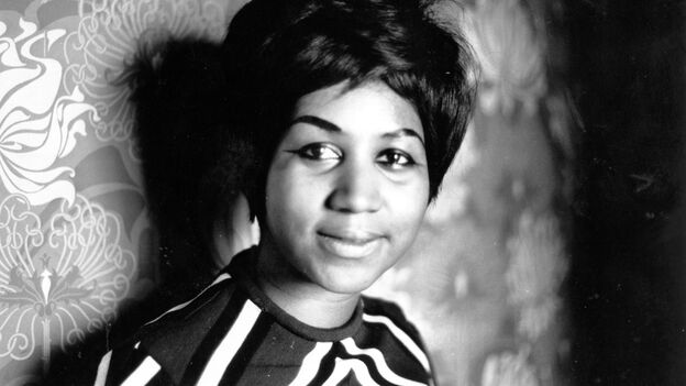 Aretha Franklin became a star on the Atlantic record label after leaving Columbia. (Getty Images)