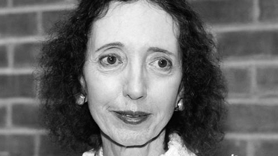 Joyce Carol Oates is an American author. She has won a National Book Award and three of her novels were nominated for Pulitzer Prizes.