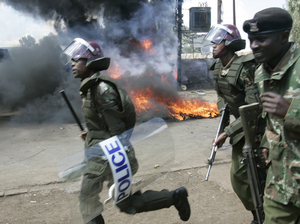 Widespread erupted in Kenya after the presidential election in 2007. More than 1,000 people were killed.