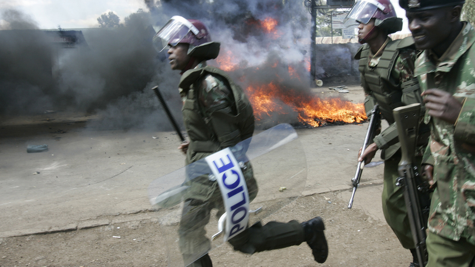 Widespread protests erupted in Kenya after the presidential election in 2007. More than 1,000 people were killed. (AP)