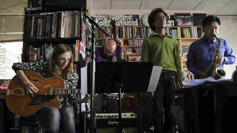 Mary Halvorson performs a Tiny Desk Concert on Dec. 12, 2012.