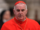 Then-Cardinal Keith O'Brien, archbishop of Saint Andrews and Edinburgh, at St. Peter's Basilica in Vatican City last week.