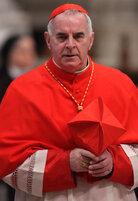 Then-Cardinal Keith O'Brien, archbishop of Saint Andrews and Edinburgh, at