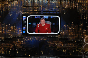 William Shatner makes a cameo appearance as Captain Kirk from
