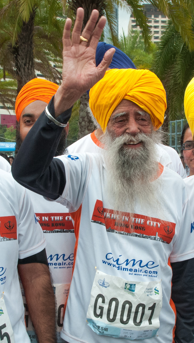 Fauja Singh, the 101-year-old