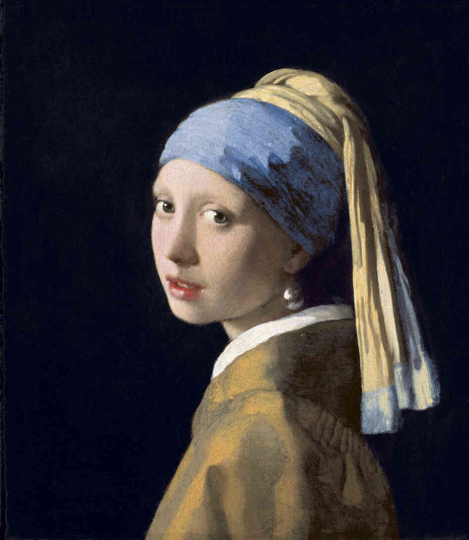 Vermeer s girl with a pearl earring is also showing on the west coast