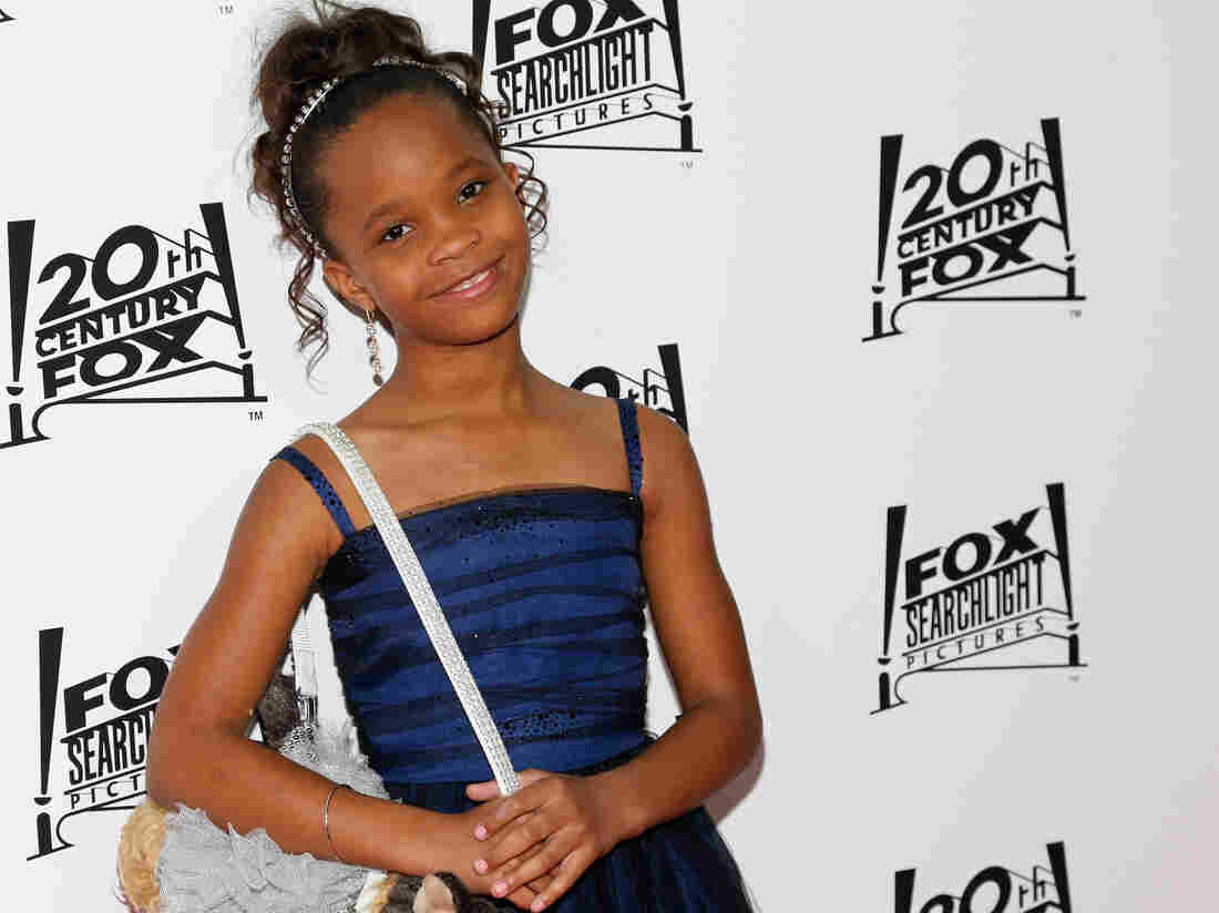 Actress Quvenzhane Wallis.