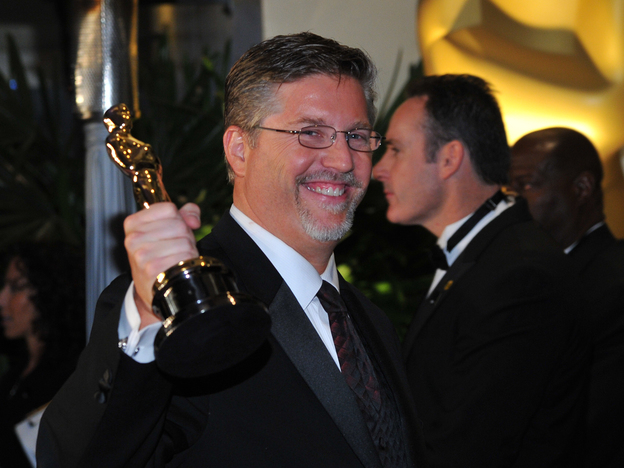 Bill Westenhofer, winner of best visual effects for Life of Pi, said backstage that the business model of the visual effects industry needs to change. (AP)