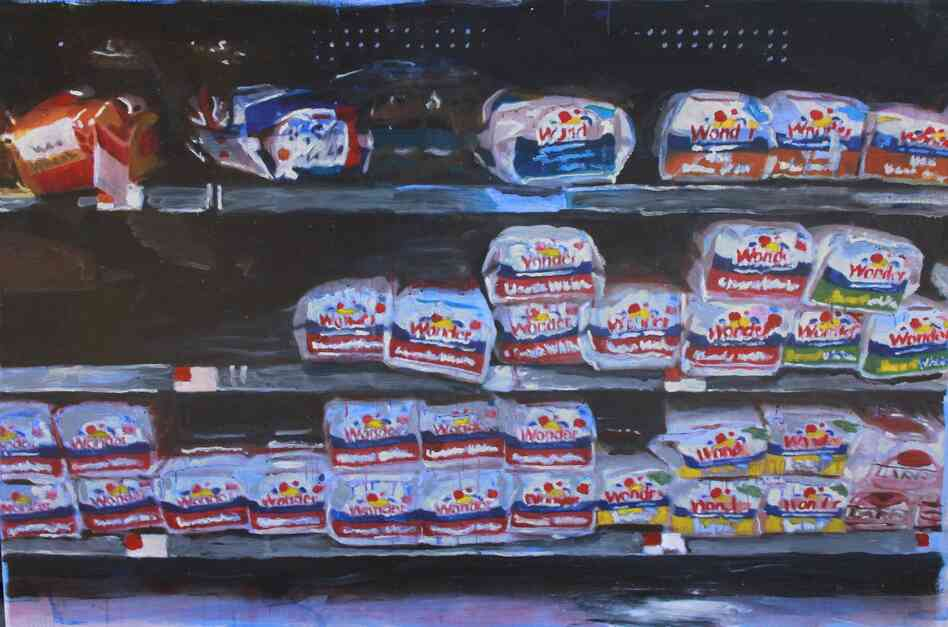"Wonderbread 48"" x 72"""
