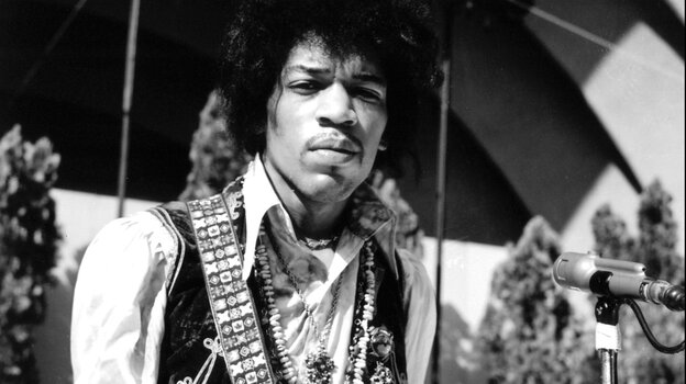 Jimi Hendrix's new album, People, Hell and Angels, comes out March 5.