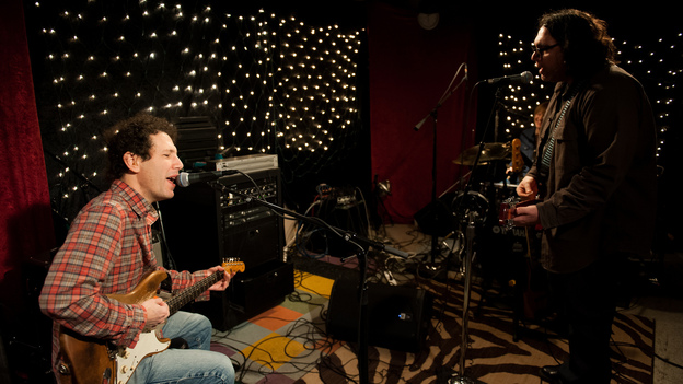 Yo La Tengo performs a studio session at KEXP's studios in Seattle on Jan. 18, 2013.
