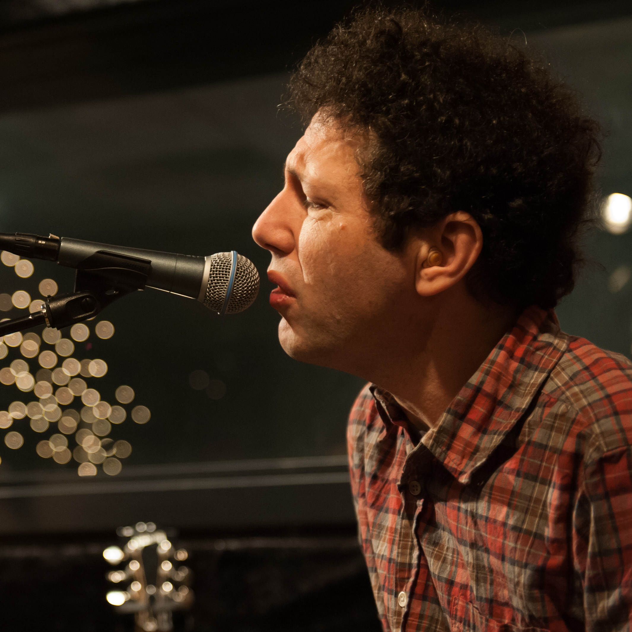 Ira Kaplan of Yo La Tengo performs live at KEXP's studios in Seattle.
