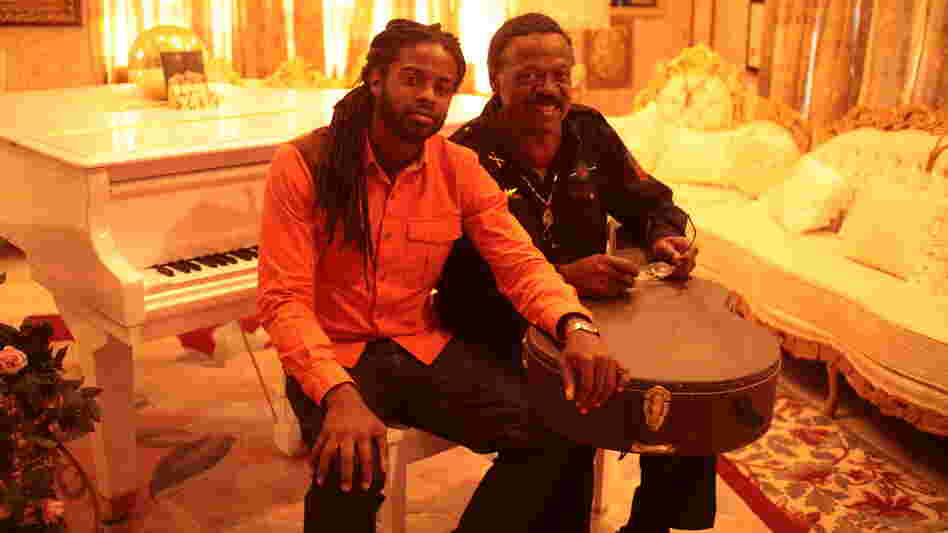 Adrian Younge (left) and William Hart. Adrian Younge Presents The Delfonics comes out March 12.