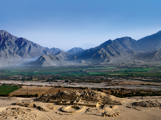 Located north of Lima, Peru, the Caral-Supe settlement was the ancient home of the Norte Chico people, a civilization almost as old as the Egyptians.